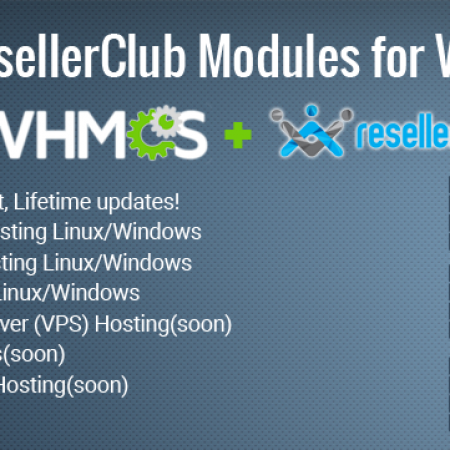 All ResellerClub Product Modules for WHMCS