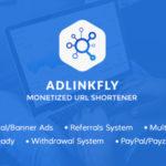 AdLinkFly – ouo.io Clone URL Shortener PHP Script